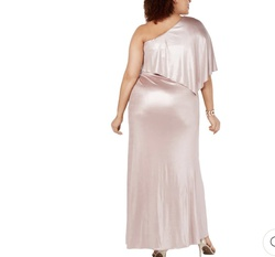 Adrianna Papell Pink Size 6 Straight Dress on Queenly