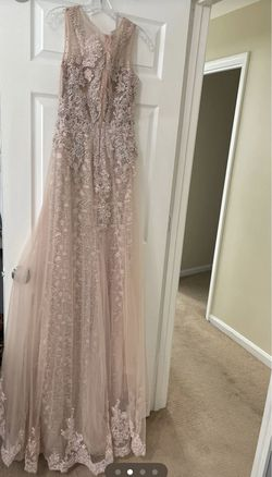 Pink Size 4 Mermaid Dress on Queenly