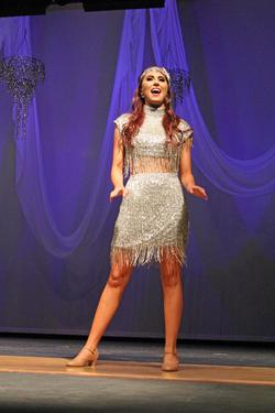Sherri Hill Silver Size 0 Fringe Cocktail Dress on Queenly