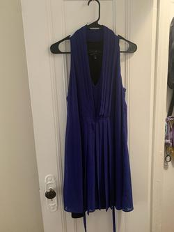 Akiko Royal Blue Size 6 Prom A-line Dress on Queenly