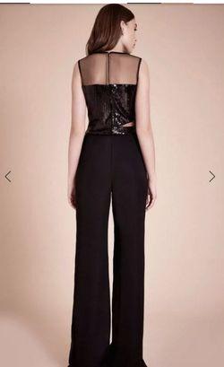 Tadashi shoji Black Size 10 Jumpsuit Dress on Queenly