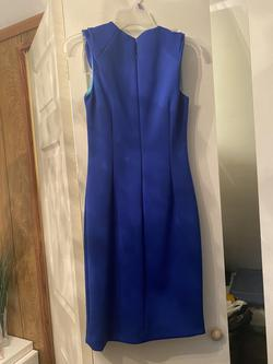 Calvin Klein Blue Size 2 Cocktail Dress on Queenly