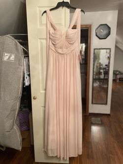 Birdy Grey Pink Size 6 Halter Wedding Guest A-line Dress on Queenly