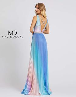 Style 30705 Mac Duggal Multicolor Size 8 Tall Height A-line Dress on Queenly
