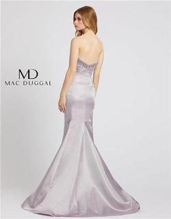 Style 6836 Mac Duggal Purple Size 6 Tall Height Mermaid Dress on Queenly