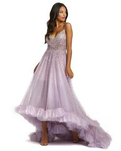 Style 11111 Mac Duggal Purple Size 2 Tall Height Ball gown on Queenly