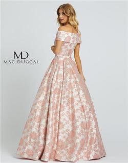 Style 25918 Mac Duggal Pink Size 4 Tall Height Ball gown on Queenly