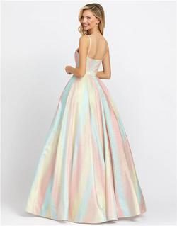 Style 26182 Mac Duggal Multicolor Size 0 Tall Height Ball gown on Queenly