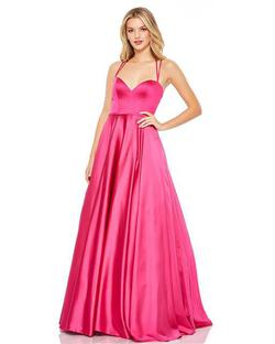 Style 67559 Mac Duggal Pink Size 12 Pageant Ball gown on Queenly