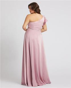 Style 48979 Mac Duggal Light Pink Size 20 Bridesmaid Straight Dress on Queenly