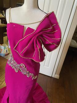 Jovani Pink Size 10 Mermaid Dress on Queenly