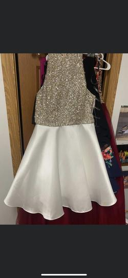 White Size 20 Cocktail Dress on Queenly