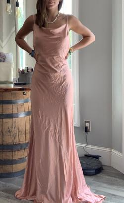 Pink Size 6 Straight Dress on Queenly