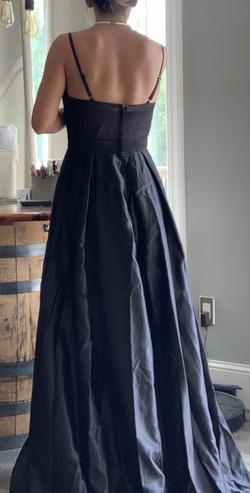Black Size 6 A-line Dress on Queenly