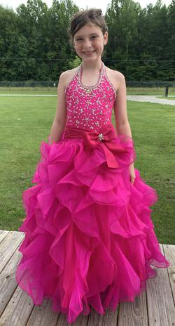 Mac Duggal Pink Size 8 Ball gown on Queenly