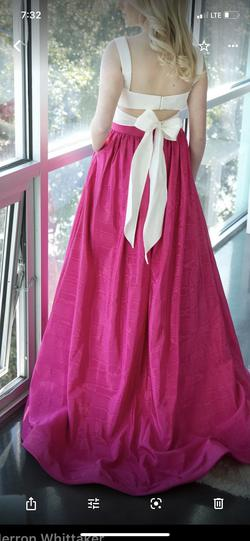 Sherri Hill Pink Size 4 Two Piece Ball gown on Queenly
