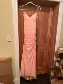 Sherri Hill Pink Size 0 Wedding Guest Bridesmaid Tall Height Straight Dress on Queenly