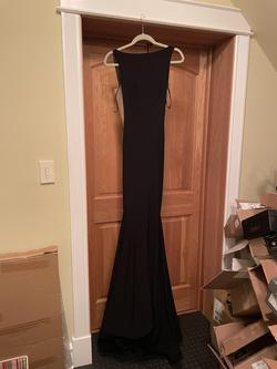 Jovani Black Size 0 Tall Height Mermaid Dress on Queenly