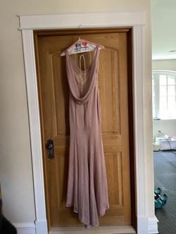 Purple Size 00 Mermaid Dress on Queenly
