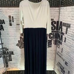Anne Klein  Black Size 12 Plus Size Wedding Guest Jumpsuit Dress on Queenly