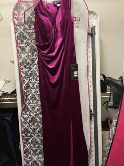Johnathan Kayne Purple Size 8 Side slit Dress on Queenly
