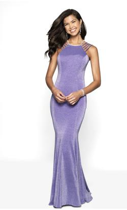 Blush Purple Size 6 Pageant Wedding Guest Straight Dress on Queenly