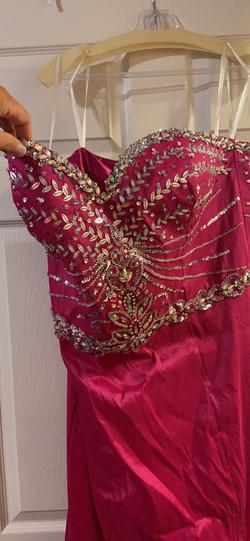 Mac Duggal Pink Size 20 Sweetheart Mermaid Dress on Queenly