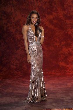 Stephen Yearick Nude Size 4 Halter Mermaid Dress on Queenly