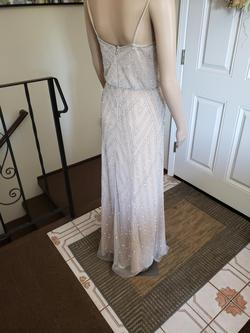 Adrianna Papell Nude Size 0 Adrianna Pappel Straight Dress on Queenly