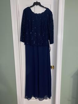 Alex Evenings Blue Size 18 Plus Size Straight Dress on Queenly