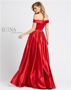 Style 25958 Mac Duggal Red Size 16 Tall Height Side slit Dress on Queenly