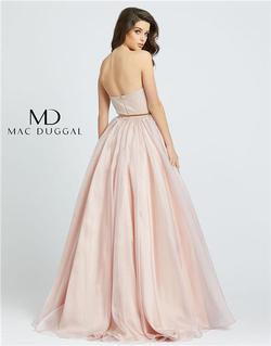 Style 25943 Mac Duggal Pink Size 0 Tall Height Ball gown on Queenly