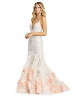 Style 11116 Mac Duggal Light Pink Size 4 Pageant Mermaid Dress on Queenly
