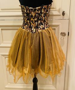 Sherri Hill Multicolor Size 6 Sweetheart Corset Fitted Cocktail Dress on Queenly