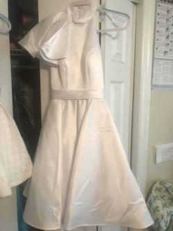 White Size 00 Cocktail Dress on Queenly