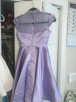 One More Couture Light Purple Size 00 Cocktail Dress on Queenly