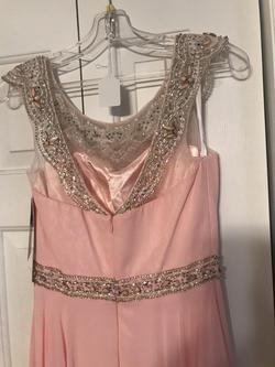 Alyce Light Pink Size 6 Bridesmaid A-line Dress on Queenly