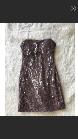 Masquerade Purple Size 4 Homecoming Party Cocktail Dress on Queenly