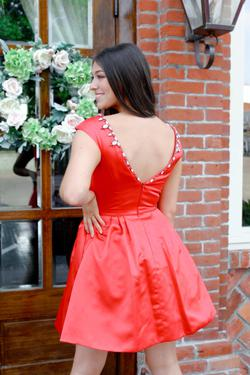 Sherri Hill Red Size 6 Tall Height Cocktail Dress on Queenly