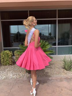 Mac Duggal Pink Size 10 Homecoming Flare Cocktail Dress on Queenly