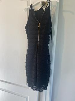 Guess Black Size 0 Sorority Formal Wedding Guest Cocktail Dress on Queenly