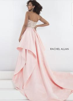 Rachel Allen Light Pink Size 8 Pageant Ball gown on Queenly