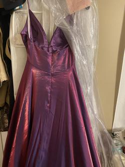 Sherri Hill Multicolor Size 8 Short Height Purple Pink Ball gown on Queenly