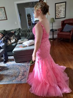 Sherri Hill Light Pink Size 12 Mermaid Dress on Queenly