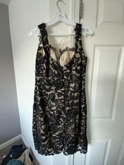 Cinderella Black Size 12 Prom Bodycon Cocktail Dress on Queenly