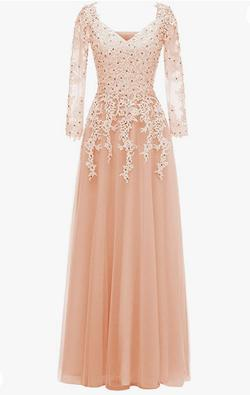 Pink Size 18 Mermaid Dress on Queenly