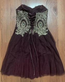 City Studio Purple Size 4 Homecoming Cocktail Dress on Queenly