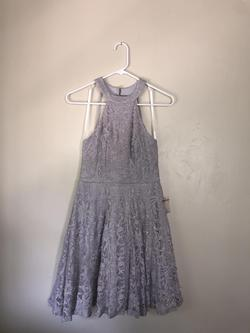 B. Darlin Silver Size 6 Cocktail Dress on Queenly