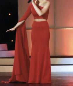 Fernando Wong Red Size 0 Short Height Straight Dress on Queenly