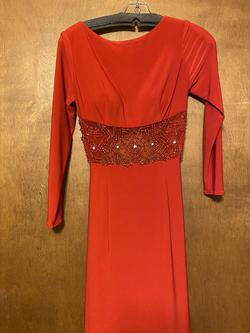 Sherri Hill Red Size 4 Prom Pageant Straight Dress on Queenly
